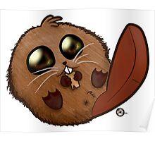 Cutie Beaver Poster