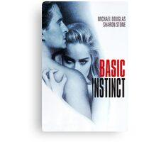 Basic Instinct Canvas Print