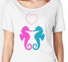 Two sea horses in love Women's Relaxed Fit T-Shirt