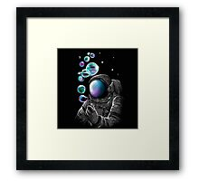 SALJU : IT'S FUN TO BE AN ASTRANOUT Framed Print