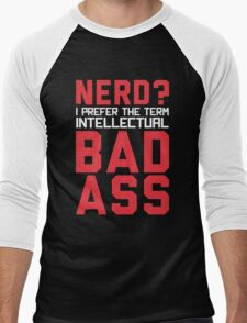 Nerd? Men's Baseball ¾ T-Shirt