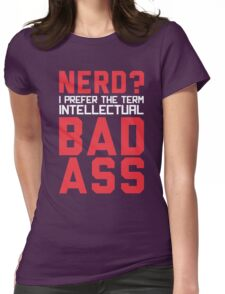 Nerd? Womens Fitted T-Shirt
