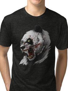 SALJU THE ANGRY PANDA Tri-blend T-Shirt