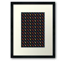 LP Color Labels Framed Print