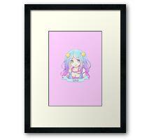 Arcade Sona Chibi Framed Print