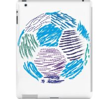 Soccer ball iPad Case/Skin