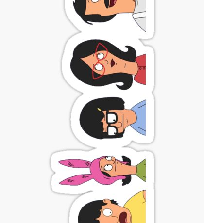 Belcher family Sticker