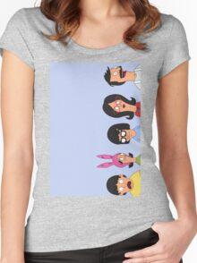 Belcher family Women's Fitted Scoop T-Shirt