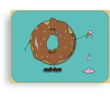 Billy Doughnut Canvas Print