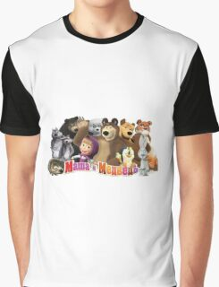 Masha and the bear Graphic T-Shirt