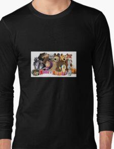 Masha and the bear Long Sleeve T-Shirt