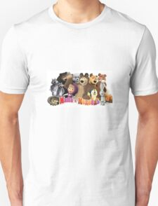 Masha and the bear Unisex T-Shirt