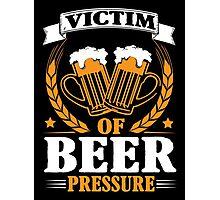 Victim of beer pressure Photographic Print