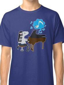 zebra & piano Classic T-Shirt