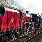 The Tin Bath double headed steam special. by John Morris