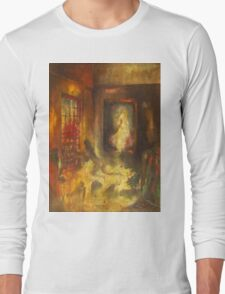 White Lady Long Sleeve T-Shirt