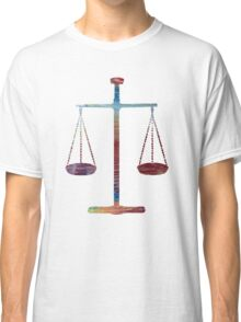 Scales of Justice Classic T-Shirt