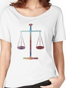 Scales of Justice Women's Relaxed Fit T-Shirt