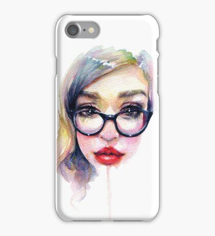 Librarian Girl iPhone Case/Skin