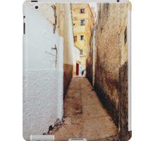 Alley in Residential Neighbourhood in Morocco iPad Case/Skin