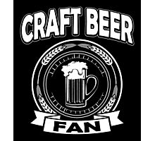 Craft Beer Fan Photographic Print