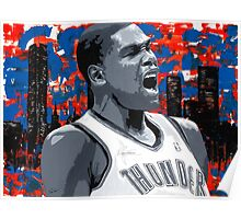 KD Painting from the Roar Collection Poster