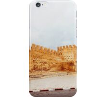 Old City Wall in Fes (Morocco) iPhone Case/Skin