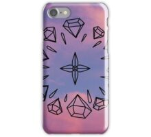 Diamond Compass iPhone Case/Skin