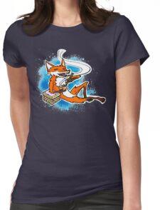 kitsune's dinner Womens Fitted T-Shirt