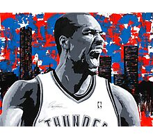 Ibaka Painting from the Roar Collection Photographic Print