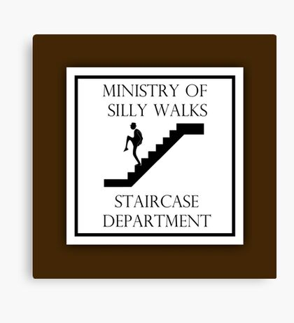 Silly Staircase Canvas Print