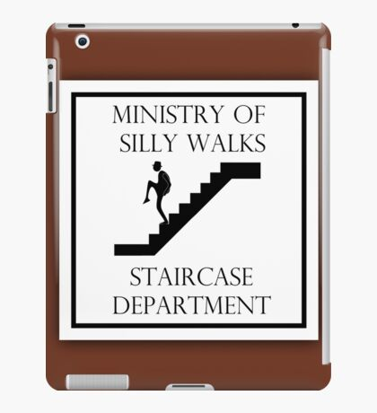 Silly Staircase iPad Case/Skin