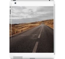Empty Road in Gloomy Countryside iPad Case/Skin
