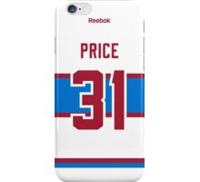 Montreal Canadiens Carey Price 2016 Winter Classic Jersey Back Phone Case iPhone Case/Skin