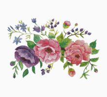 Floral pattern Kids Tee