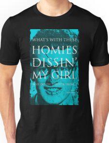 SONG LYRICS : BUDDY HOLLY  Unisex T-Shirt
