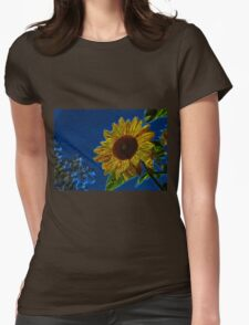 Sunflower20160201 Womens Fitted T-Shirt
