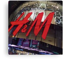 H&M New York Times Square Canvas Print