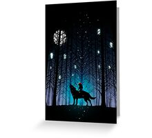 Spirit Forest Greeting Card