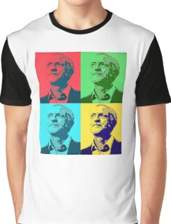 Jeremy Corbyn Pop Art Graphic T-Shirt