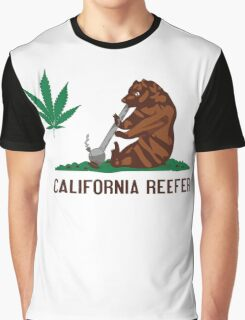CALIFORNIA REEFER Graphic T-Shirt