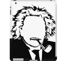 The Scientist Vacant expression iPad Case/Skin