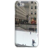 Rockefeller Center Ice Rink iPhone Case/Skin