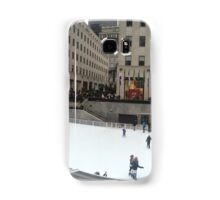 Rockefeller Center Ice Rink Samsung Galaxy Case/Skin