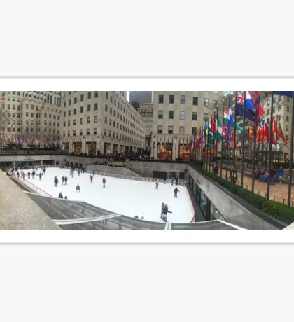 Rockefeller Center Ice Rink Sticker