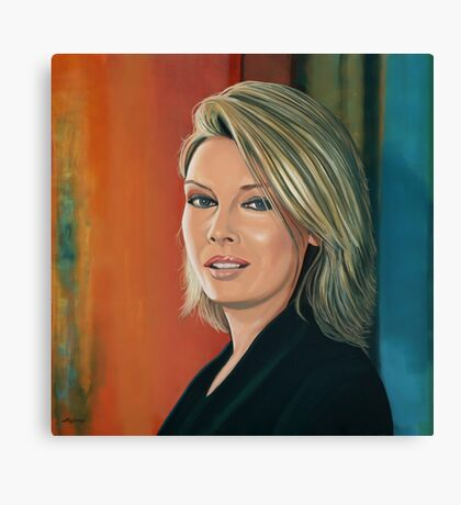 Kim Wilde Painting Canvas Print
