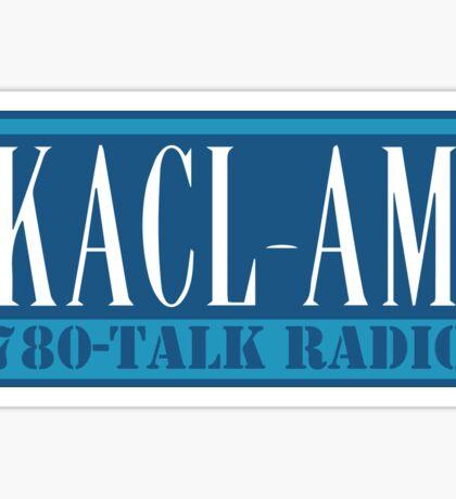 KACL AM – Frasier Crane, 780, Seattle Sticker