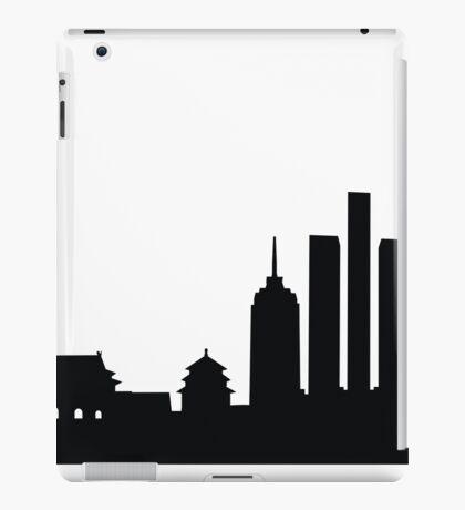 Silhouette - 3 iPad Case/Skin