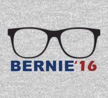 2016 election nerdy glasses Bernie Sanders  One Piece - Long Sleeve