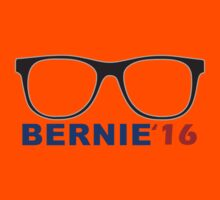 2016 election nerdy glasses Bernie Sanders  Kids Tee